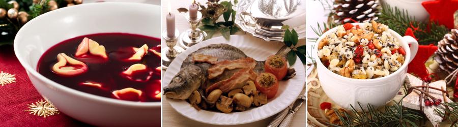 Smaczne potrawy na Wigilię i Boże Narodzenie